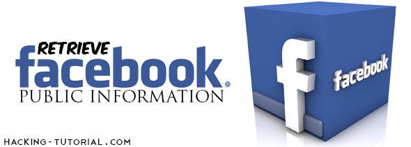 Retrieve Public Information Facebook Users